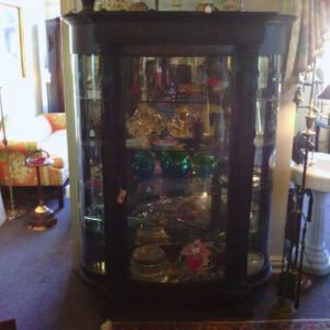 Highly Carved China Cabinet