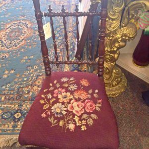 Ladies Mahogany Victorian Chair