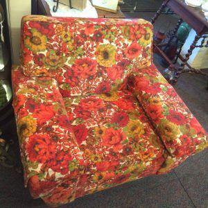 Oversized Floral Chair