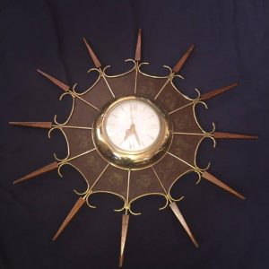 Vintage Nautical Zodiac Clock
