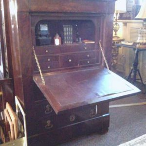Early Mahogany Secretary Desk
