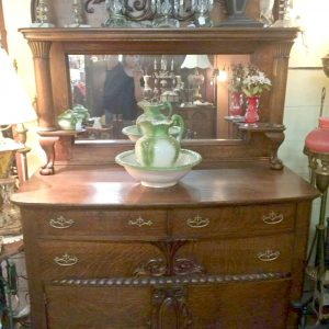 Oak Buffet c1900