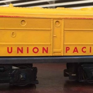 "Yellow "" Union Pacific"" Lionel Train"
