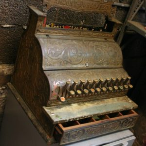 Antique Michigan Cash Register
