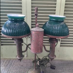Copper Converted Oil Table Lamp