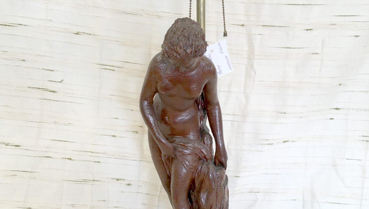 Female Figurine Table Lamp