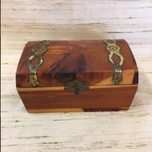 Small Wooden Souvenir Box