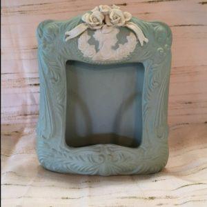 Vintage Porcelain Frame