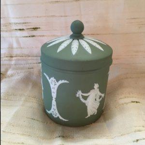 Wedgewood Sage Vanity Jar