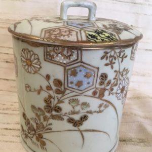 Victorian Porcelain Vanity Jar