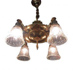 Brass Pan Light