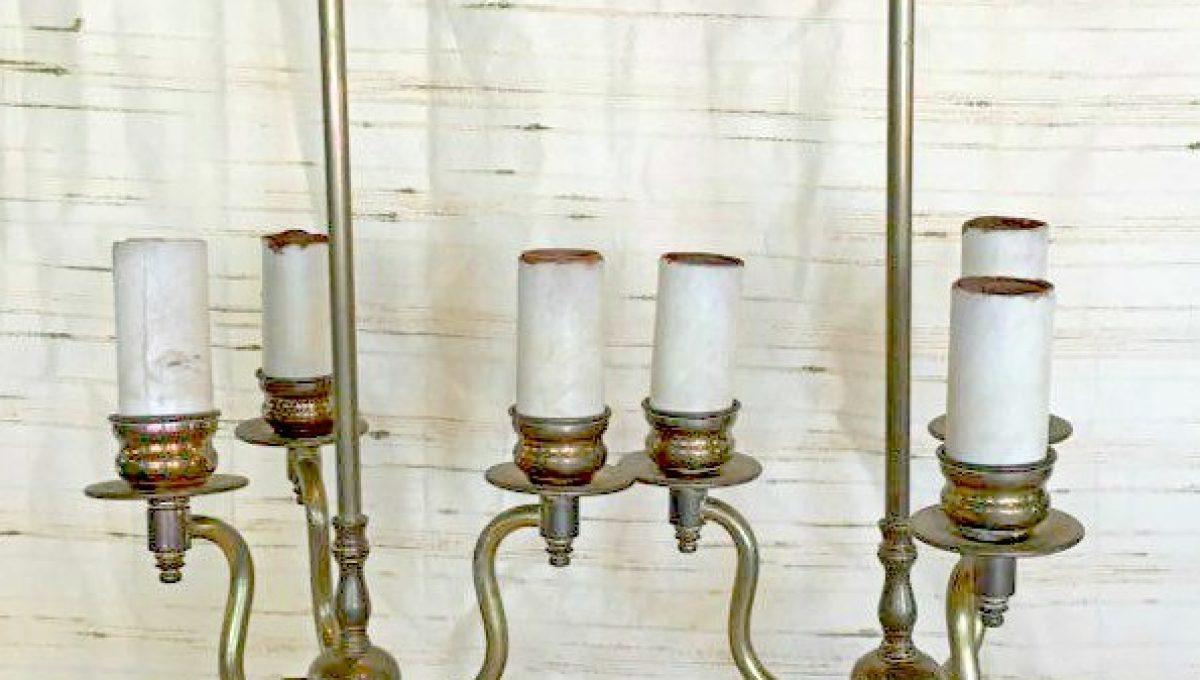 3-Light Candelabra Table Lamp