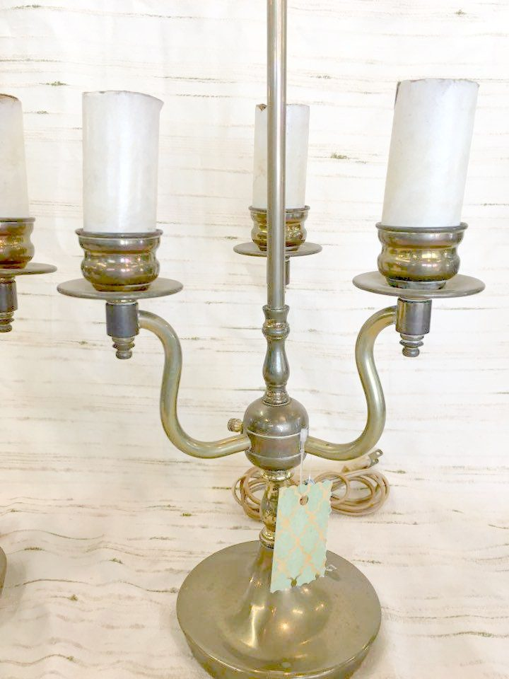 3 Light Candelabra Table Lamp