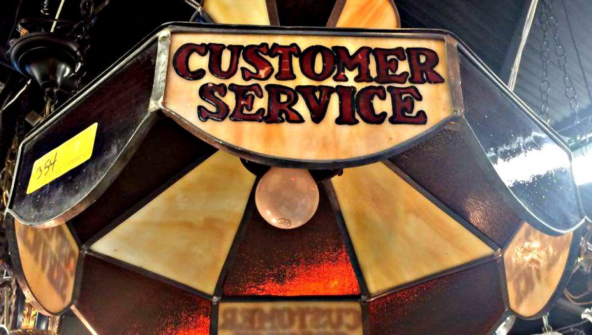Customer Service Chandelier
