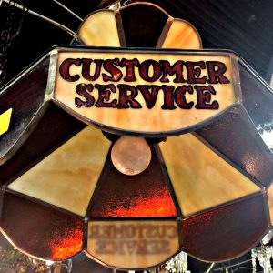Customer Service Chandelier