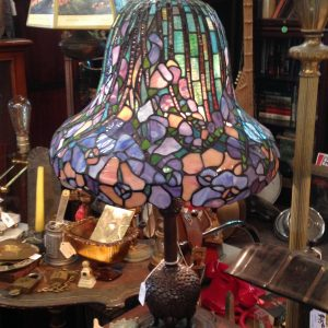 Violet Tiffany Style Lamp