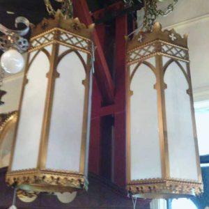 Pair of Simple Church Lights