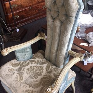 French Provincial Hollywood Regency Chairs