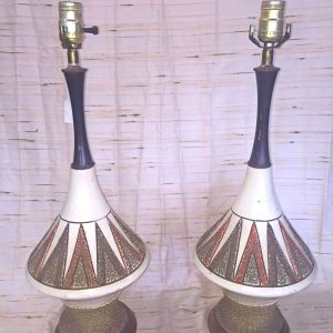 Triangular Patterned Lamps