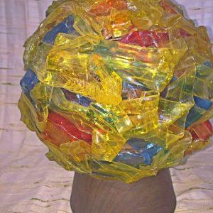 Plastic Arts & Craft Lamp