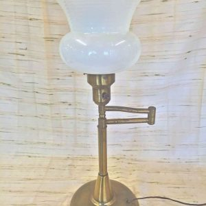 Brass Extendable Table Lamp