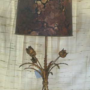 Bronze Tulip Table Lamp