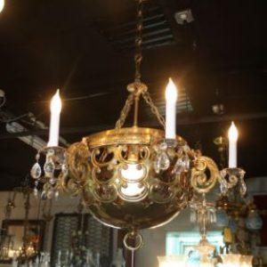 Solid Brass 7-Light Chandelier