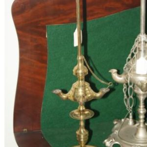 Solid Brass Italian Whale Oil Lamp