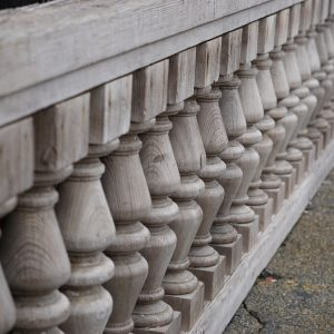 Historical Front Porch Railing