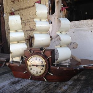 Yankee Clipper Ship Clock