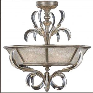 Semi-Flush Mount Chandelier by Fine Art Lamps