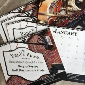 Paul's Place 2018 Calendar