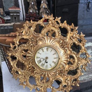 Syroco Gold Wall Clock