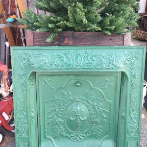 Hunter Green Fireplace Surround