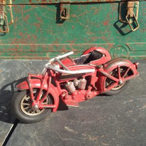 Hubley Indian Cast Iron Toy Motorcycle