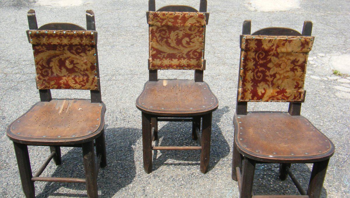 Handmade Walnut Chairs