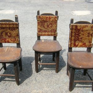Handmade Walnut Chairs