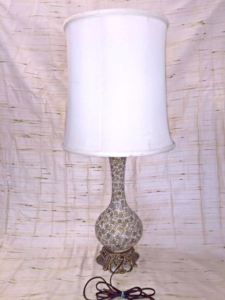 Gold Floral Vase Table Lamp Pauls Place Online