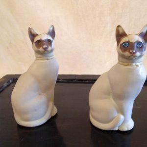 AVON Simeese Cat Perfum Bottles