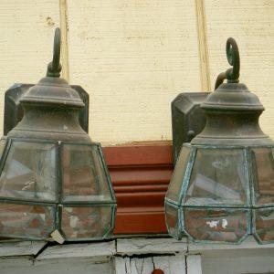 Beveled Glass Lanterns