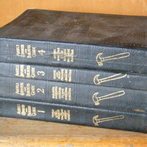 Audels Carpenters and Builders Guide ( 1-4 Volumes )