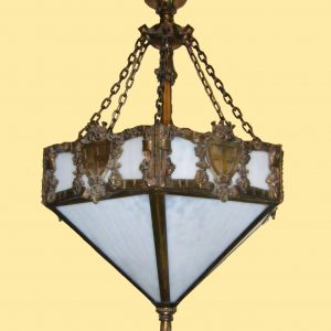 Crest & Shield Dome Chandelier