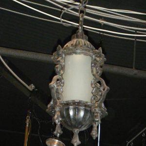Black Cast Iron Hanging Fixture