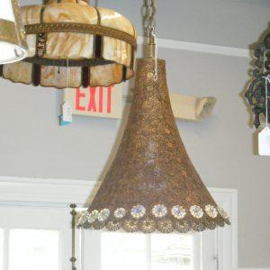 Bohemian Brass Hanging Fixture