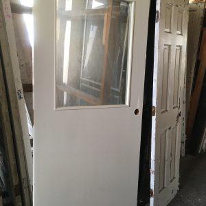Commerical Exterior Half Glass Door