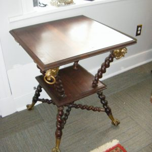 19th Century Victorian Merkle Bros. Table