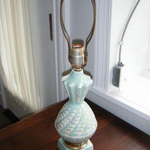 Turquois Ceramic Lamp