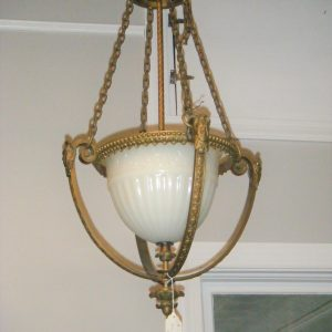 Bronze Dome Chandelier