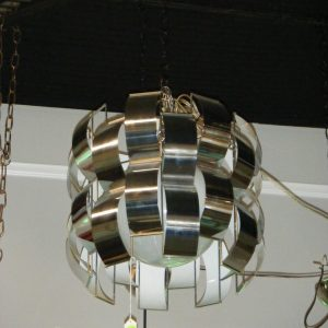 New Modern Chrome Chandelier