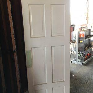 6-Panel Vertical Swing Door